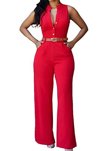 New Trending Bodysuits: Womens Sexy Sleeveless Cocktail Jumpsuit Clubwear X-Large Red. Womens Sexy Sleeveless Cocktail Jumpsuit Clubwear X-Large Red  Special Offer: $18.99  199 Reviews It is very sexy ,the fashion design make you more charming.Material : Polyester SpandexSoft and comfortable with superior fabric madeAnkel LengthStylish and SexyOccasion: Casual, Cocktail,...
