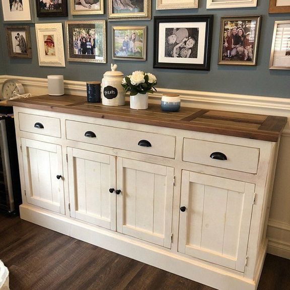 36 The Importance Of Teal Buffet Cabinet Pecansthomedecor Com With Images Dining Room Sideboard Farmhouse