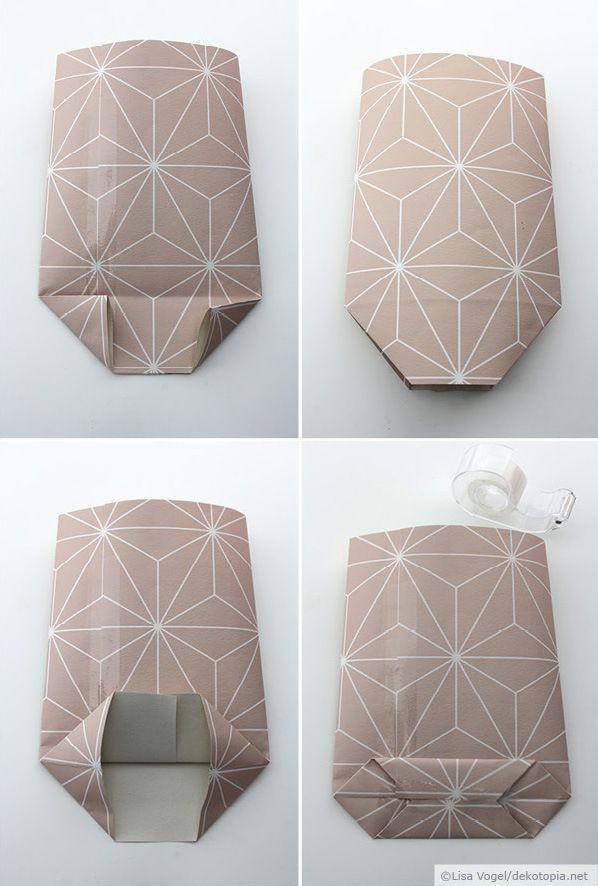 papiersackerl falten
