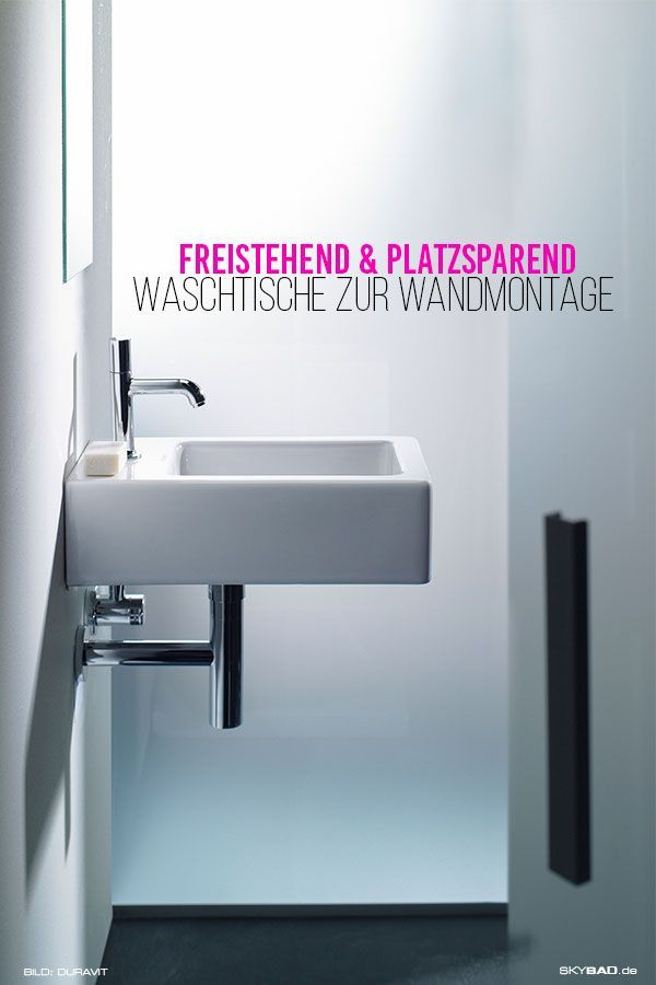 Moderner Waschtisch Mit Wandmontage In Ihrem Zuhause Gestalten Sie Ihr Badezimmer Platzsparend Mit Unse Moderne Waschbecken Waschtisch Duravit Vero Waschtisch
