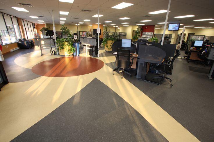Government offices canada mondo contract flooring for Mondo office