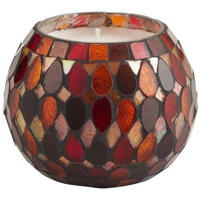 Mosaic Filled Candle - Spiced Cake