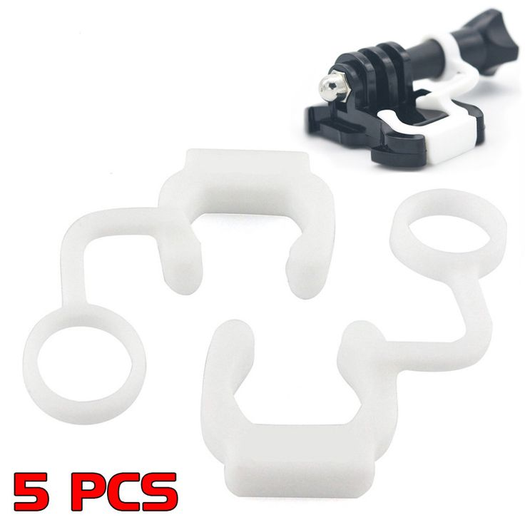 Hot Sales! 5pcs For GoPro Camera Accessories Silicone Rubber Locking Plug Lock Plug For