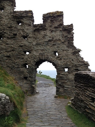 Tintagels Castle, Cornwall