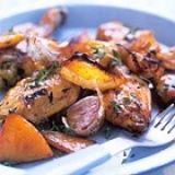 Nigella Lawson: langzaam gebraden kip met knoflook en citroen recept - Kip - Eten Gerechten - Recepten Vandaag