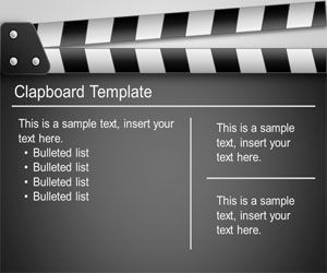Clapboard PowerPoint Template is a premium but free Film PowerPoint template that you can download to make presentations on Hollywood movies and productions but also other kind of presentations in Microsoft PowerPoint