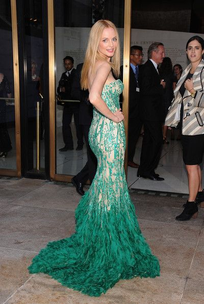 """Heather Graham attends the Metropolitan Opera Season Opening Production Of """"Eugene Onegin"""" at The Metropolitan Opera House on September 23, ..."""