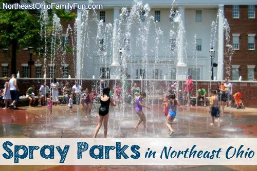 Details on the Spraygrounds, Splashpads, Spray Basins, Spray Parks Northeast Ohio (Cleveland, Akron, Canton & Youngstown).