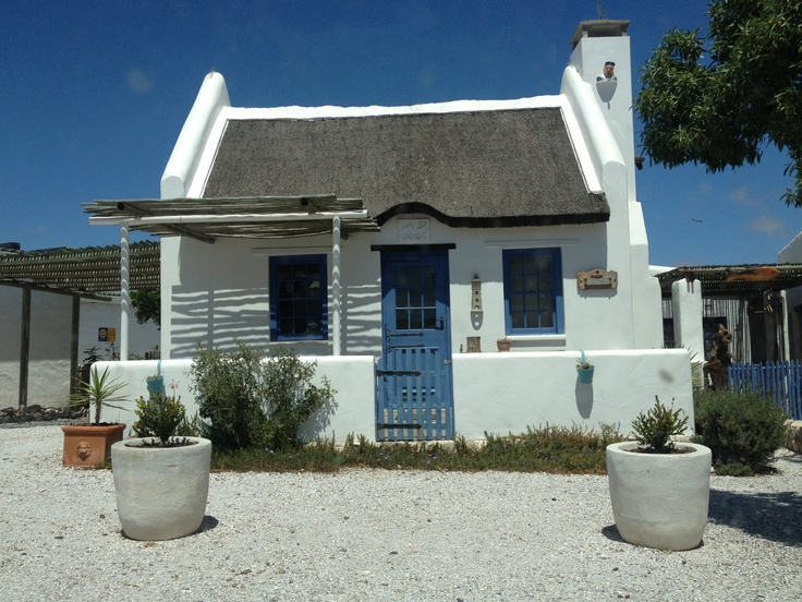 Quaint houses are the order of the day in #Paternoster. #SouthAfrica
