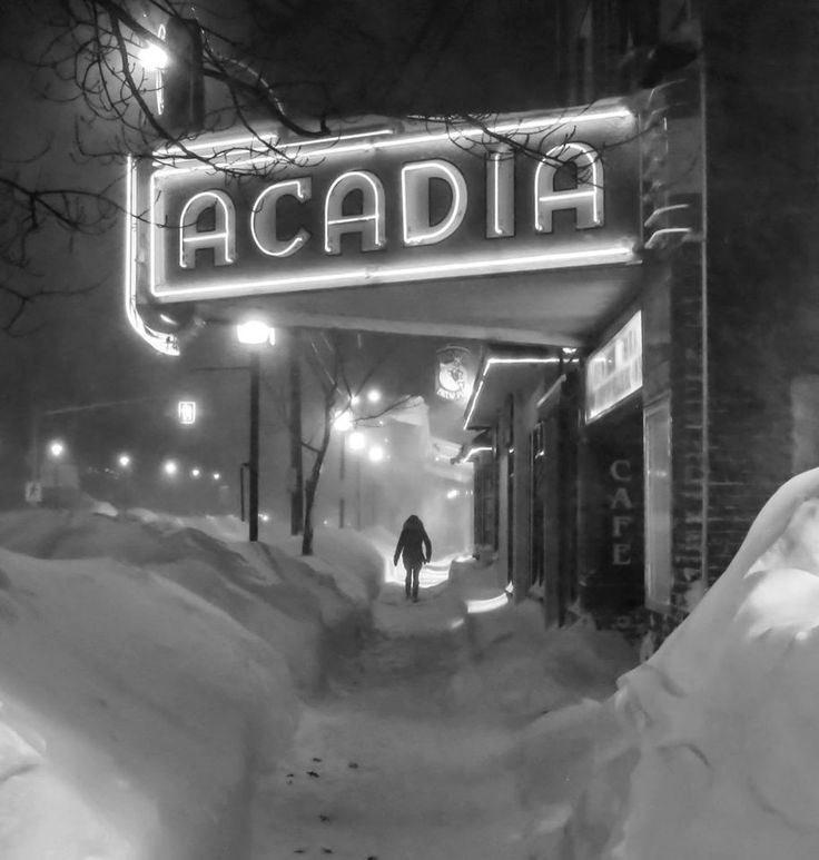 Acadia Theater, Wolfville, NS