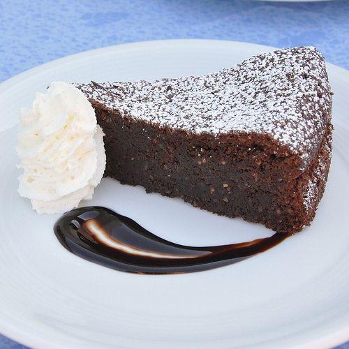 Torta Caprese, gluten free