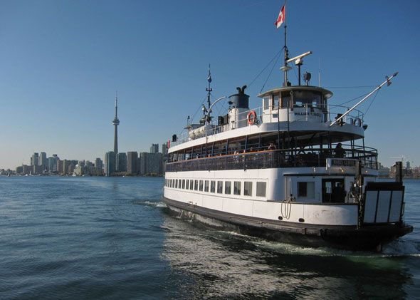 Torontos first Island ferries