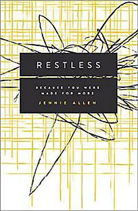 Summer 2014 // Restless by Jennie Allen - hope to read this one soon!!  Summer 2014 #1 on my list <3