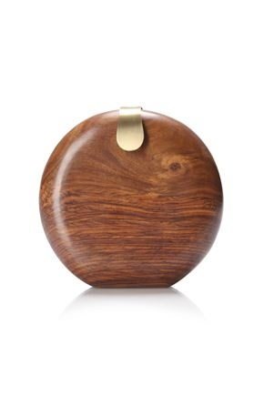 Wood clutch by French Connection