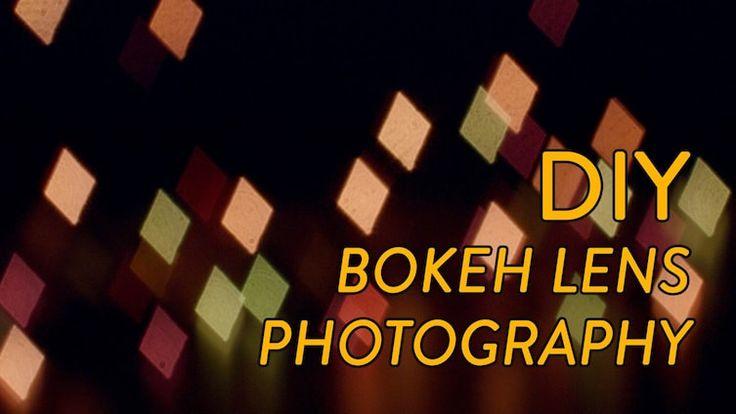 Simple DIY Bokeh Lens