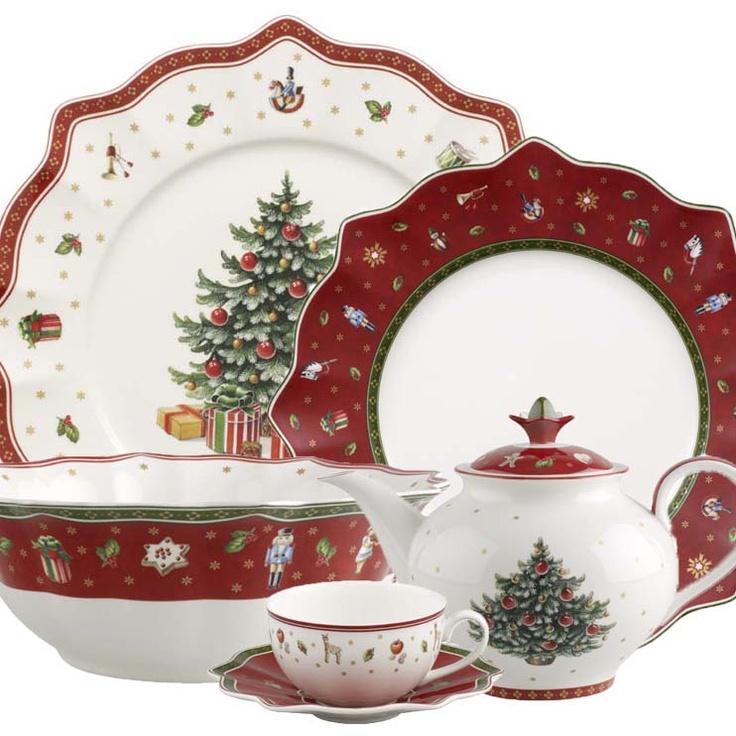 Villeroy Boch Toys Delight Christmas  Pinterest Christmas Dinnerware Christmas China And Christmas Dishes