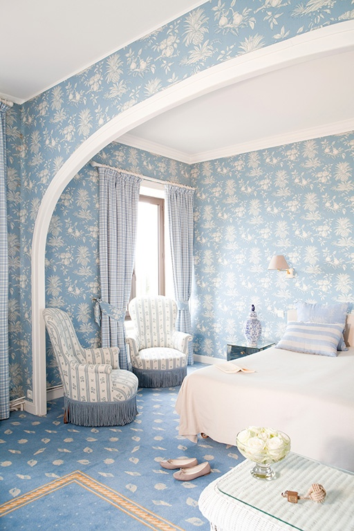 Relais & Chateaux - Surrounded by the immense sea and the reefs of the Pink Granite Coast, the Manoir de Lan-Kerellec is a jewel in Brittany's crown. Manoir de Lan-Kerellec - FRANCE  #relaischateaux #room #europa