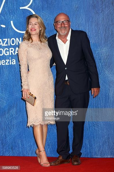 VENICE, ITALY - SEPTEMBER 03: Lilla and Lorenzo Soria attend the... #lillaedet: VENICE, ITALY - SEPTEMBER 03: Lilla and Lorenzo… #lillaedet