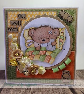 Di's Digi Poorly Teddy http://www.disdigistamps.com/get-well--other.html