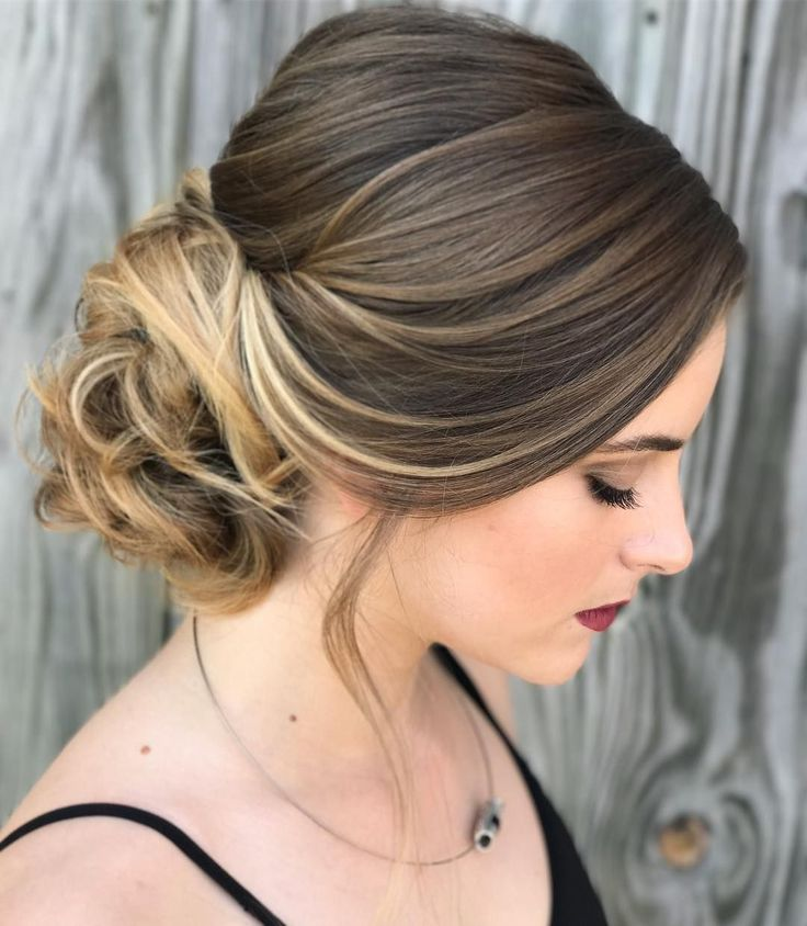 32 Most Romantic Updos for Long Hair  #elegant #formal #hair #long #prom #updo