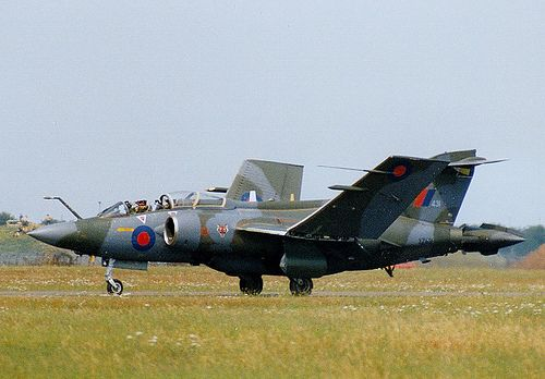 Blackburn Buccaneer. RAF Honington. June, 1992 .