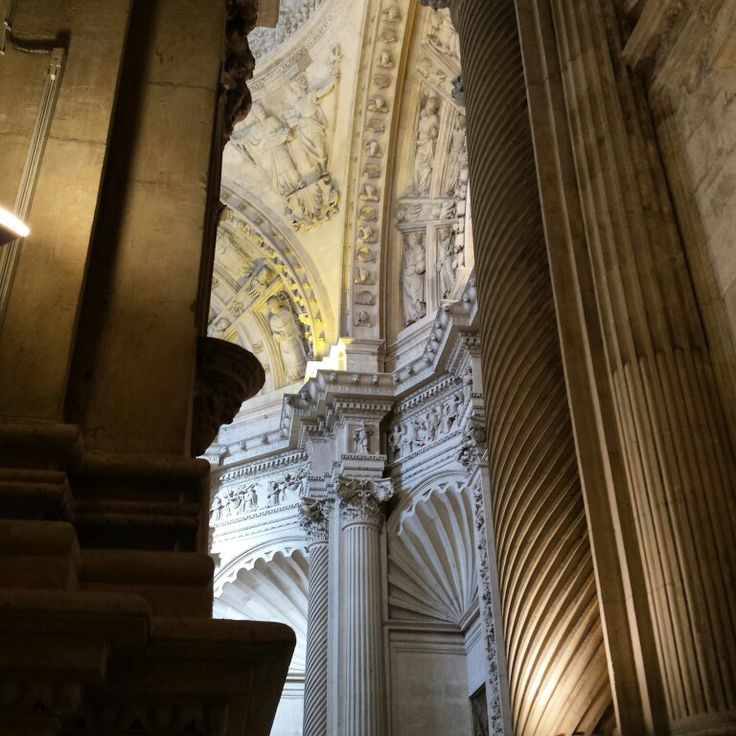 Detail from inside the Seville Cathdral