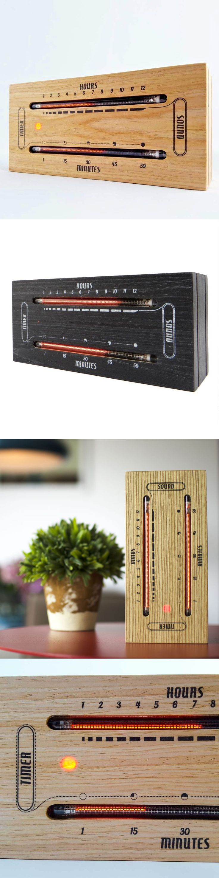 Desk Mantel and Shelf Clocks 175753: The Luminous Electronic Bargraph Clock - Retro Nixie Tube Clock Made By Nuvitron -> BUY IT NOW ONLY: $229 on eBay!