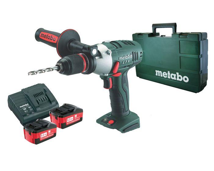 Metabo SB18LTX Hammer Drill Impulse Kit 18v - Audel Power Tools