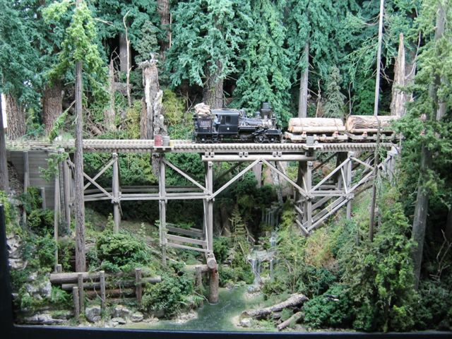 Logging Railroad | Logging Model Railroads | Small n Scale Train Layout