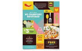 Resultado de imagem para template flyer food