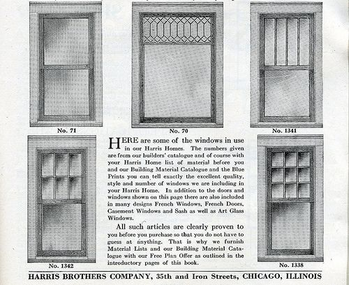 Window Styles. 1920s Craftsman Bungalow | Craftsman Bungalow a set by Daily Bungalow