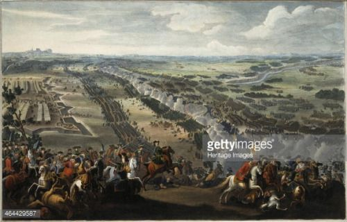 The Battle of Poltava on 27th June 1709, after 1724. Martin,... #poltava: The Battle of Poltava on 27th June 1709, after 1724.… #poltava