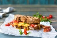 The Ultimate Bacon Sandwich on MyRecipeMagic.com Treat yourself by rustling up this special bacon sarnie. It's gooey, bacon-y AND a little bit spicy. You won't be disappointed!