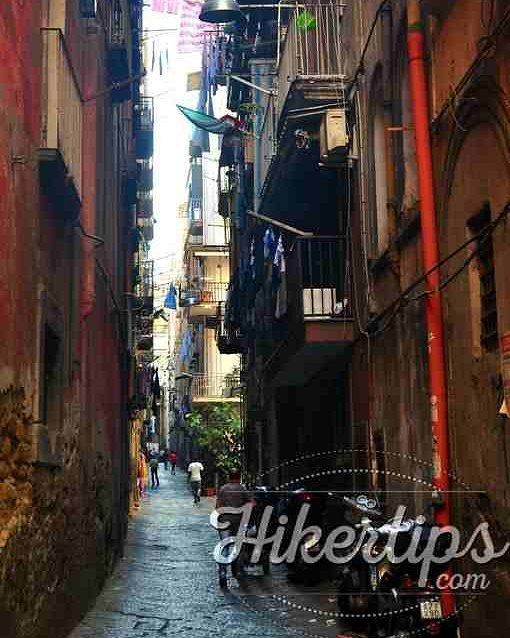 The chaotic Naples