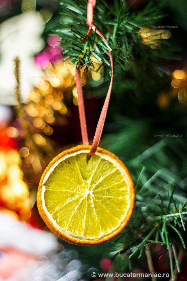 Cum se fac decoratiunile din portocale uscate