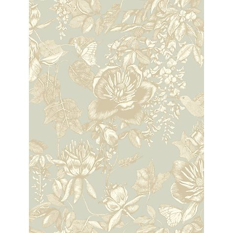 Cole & Son Tivoli Paste the Wall Wallpaper, Old Olive £75 / sq m johnlewis.com