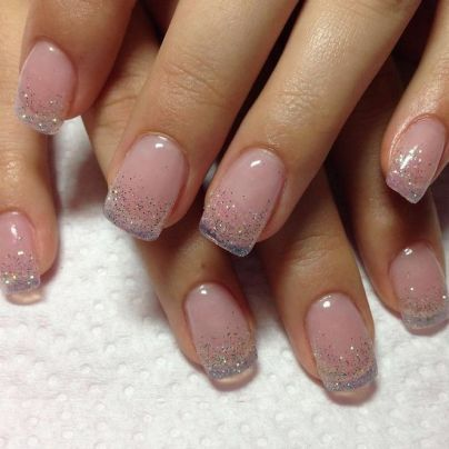 Kids Work And Short Nails Gel Natural Simple 67 Square Acrylic Nails Gel Overlay Nails Overlay Nails