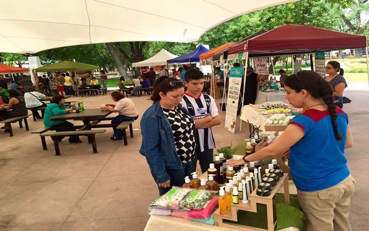 Feria de productos orgánicos en Parque España « Mty ID Magazine