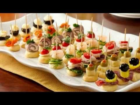 Party Appetizers Finger Food - YouTube