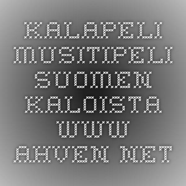 Kalapeli - muistipeli Suomen kaloista - www.ahven.net