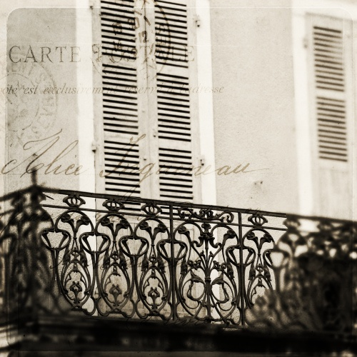 french wrought iron balcony