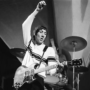 Pete Townsend – Number 10 in Rolling Stones 100 Greatest Guitarists of all time – a visionary exciting aggressive player - an intense guy – the original punk.