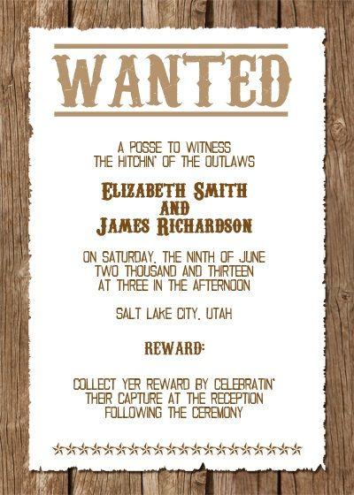 Free Printable Western Wedding Invitation  http://www.freetemplateideas.com/67-lovely-free-printable-wedding-invitations/