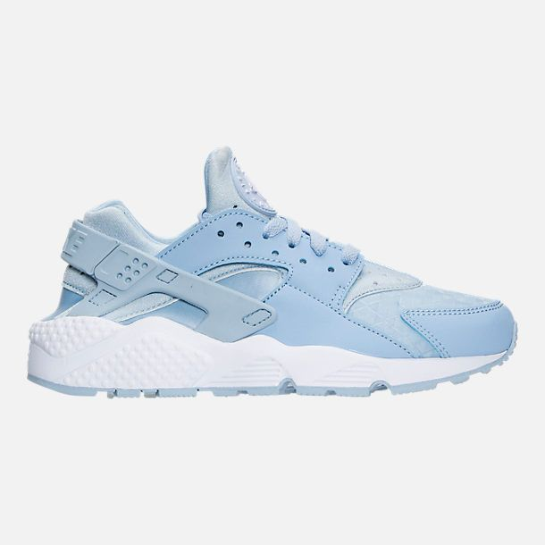 25f1a97c7206 Right view of Women s Nike Air Huarache Running Shoes in Light Armory  Blue White  selectingrunningshoes