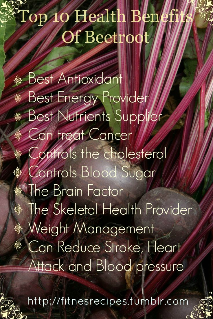 Top 10 Health Benefits Of Beetroot