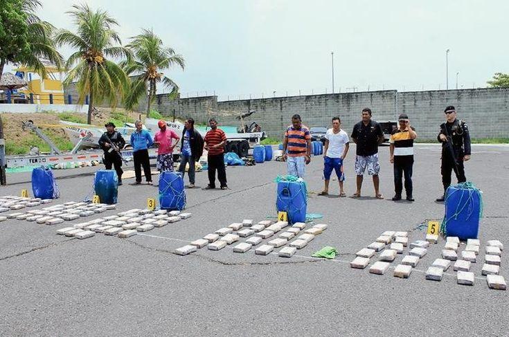 Decomisan 545 kilos de cocaína en autopista a Puerto Quetzal
