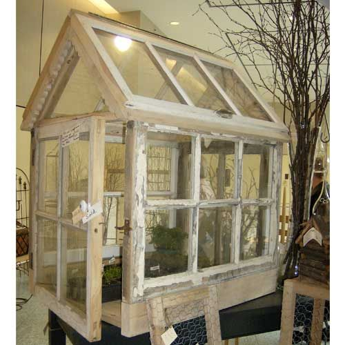 Antique Glass Greenhouse by Eastcliff Farm