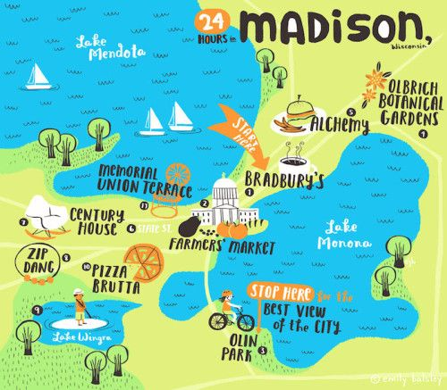 24 Hours in Madison, WI! #madison #wisconsin #travel #cityguide