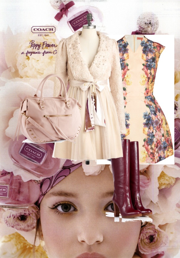 """Blush"" by millystyle on Polyvore"