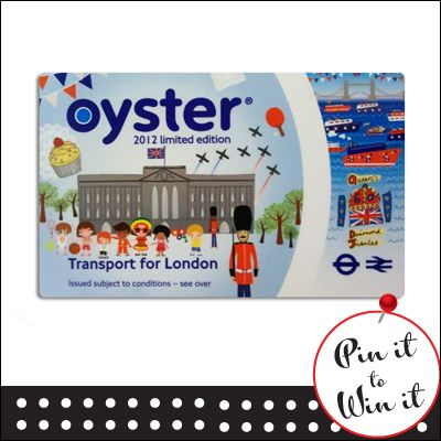 £90 Oyster Card. Want a chance to win, repin this to your board and enter on our entry form here: http://www.quickquid.co.uk/quid-corner/pin-win-1/